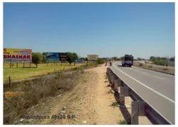 Highway Advertising Hoarding