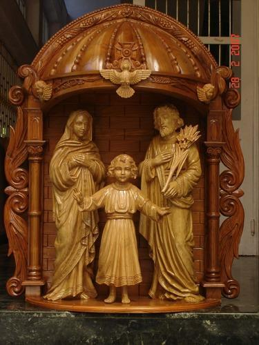 wooden and fiber house altars wooden and fiber house altar manufacturer from thane - Wooden Altar And Home Design