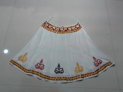 Embroidery Voile Skirt