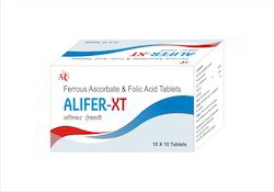 Ferrous Ascorbate With Folic Acid Tablets