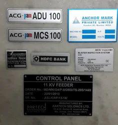 Aluminium Asset Labels