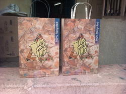 Recycled Paper Carry Bags