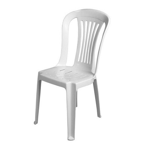 Monobloc Chair: Yellow Plastic Monobloc Chair