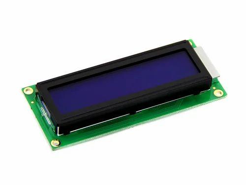 16X2 LCD Blue Display