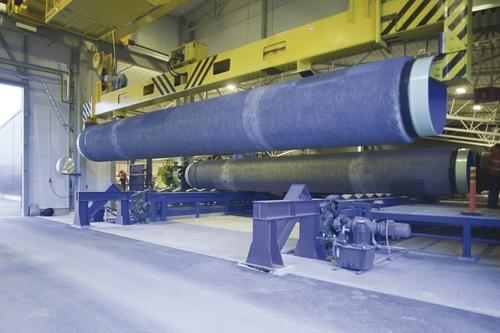 Pipe Coating Plant View Specifications Amp Details Of