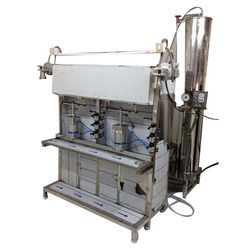 Semi Automatic Pet Bottle Soda Filling Machine