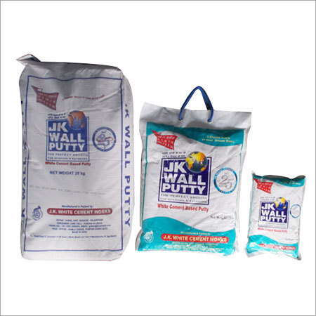 Jk White Wall Putty Powder Packaging Size 30 Kg Rs 500 Bag Id 9279567491
