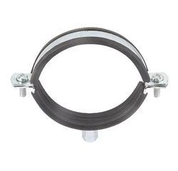 Pipe Clamp With Rubber Pad