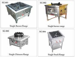 Single Head Cooking Range Burner