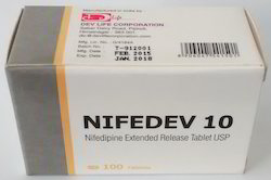 Nifedipine Extended Release Tablets 10 mg