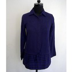 Ladies Blue Shirt