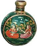 Iron Matka With Painting