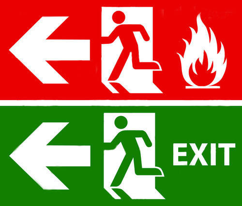 fire exit light box safety signs finetech systems. Black Bedroom Furniture Sets. Home Design Ideas