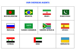 OUR OVERSEAS AGENTS