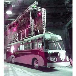 Aluminum Truss on Bus