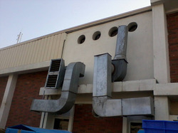 Ducting Front View