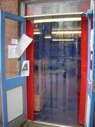 Plastic Strip Door & PVC Strip Doors in Ahmedabad Gujarat | Polyvinyl Chloride Strip ...