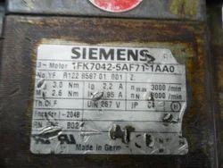 Siemens Servo Motor Repair