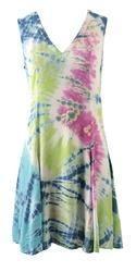 Ladies Tie Dye Designer Dress