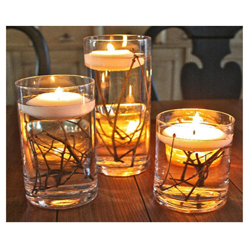 Fall Floating Candle Centerpieces: Floating Candle Centerpieces