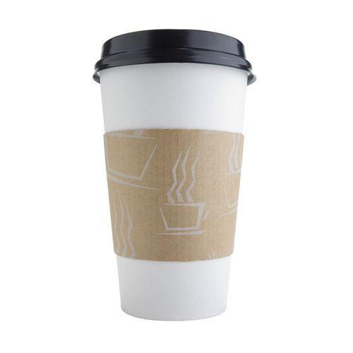 Brown Disposable Lids for 12oz//16oz Coffee Cups 100 Pieces//Set