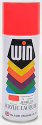 Fluorescent RED Aerosol Touch-Up Paints - 400ml Container  P
