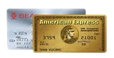 Gold & Silver card