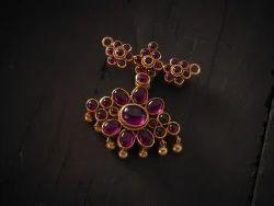 Silver Temple Jewellery Pendant