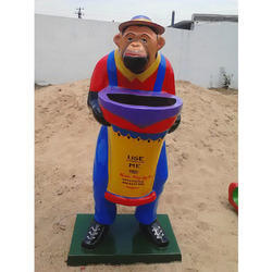 FRP Monkey Dustbin