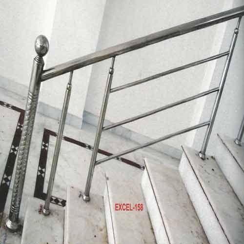 Stainless Steel Railing Design, स्टेनलेस स्टील रेलिंग ...