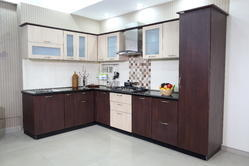 L- Shape Modular Kitchen