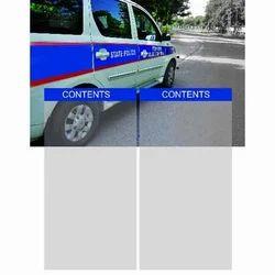 Leaflet Van