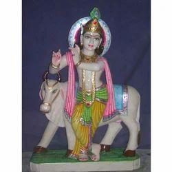 Hindu God Krishna Statue