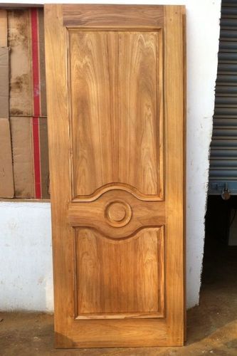Teakwood door flat teak wood main door models designs for Wood door manufacturers