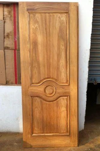 Teakwood door flat teak wood main door models designs for Teak wood doors manufacturers