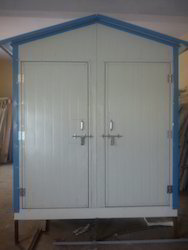 Insulated PUF Panel Portable Toilet