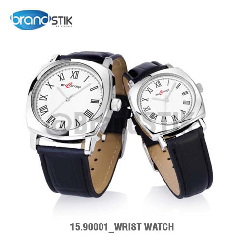 Black Round Wrist Watch