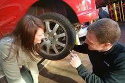 Car Puncher Repairing