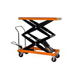 Manual Operated Hydraulic Scissor Lift Table