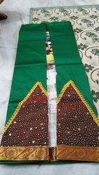 Hand Loom Pattu Pavadai Saree