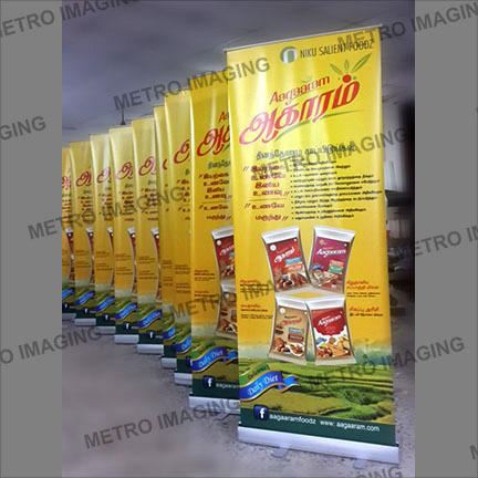 Big Roll Up Banner Stand