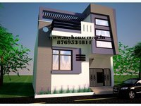 House Map India and Front Residential Elevation Service Provider