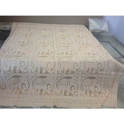 Handmade Cutwork Jaipuri Bed Sheet