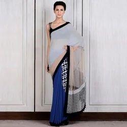 Simple Designer Saree, सिंपल डिज़ाइनर साड़ी at Rs ...