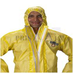 polypropylene Substrate Large Chemical Resistant Suit
