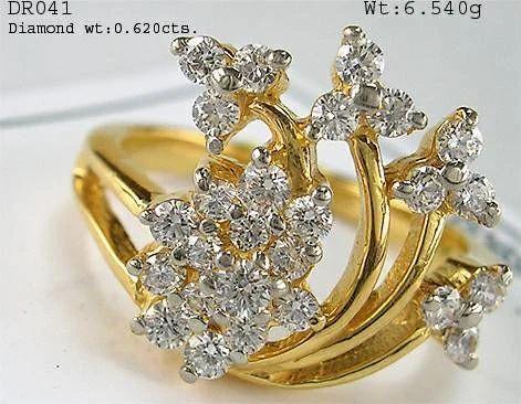Ladies Diamond Ring at Rs 57583 pieces Heere Ki Angoothi