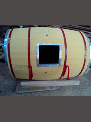 Macaw Bird Breeding Barrel