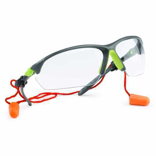 Eye Protection Goggle with Ear Plug Retainer