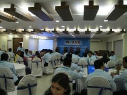 Conference Hall - Blue Waves