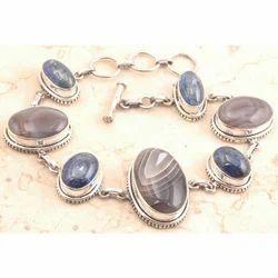 Design Botswana Agate Bracelet